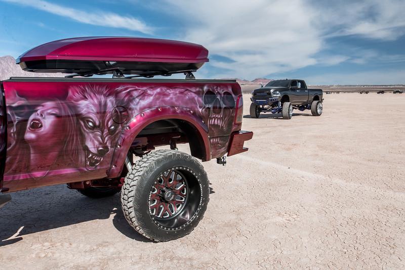 @red_pearl_cummins #ProjectRedPearl 2018 Dodge @RamTrucks 2500 24x14 #SHOCK Face-Plate Series 38x13.5r24 Sniper Tires-34.jpg