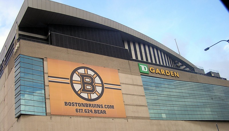 I've got to get to an event in the Boston Garden.