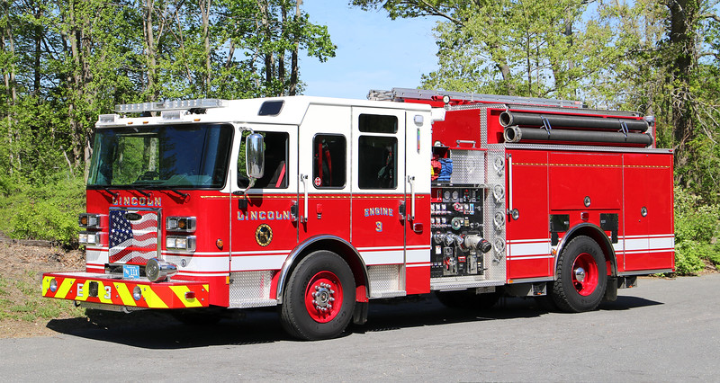 Engine 3.  2019 Pierce Saber   2000 / 750