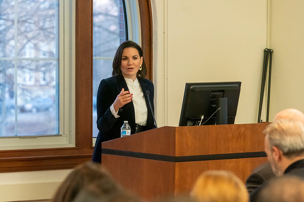 Emmanuel College: Olga Kefalogianni lecture 2/19/20