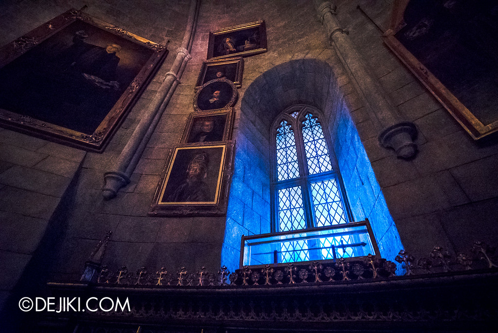 Universal Studios Japan - Harry Potter and the Forbidden Journey / Hogwarts Castle Walk Tour - Dumbledore's Office, Sword of Gryffindor
