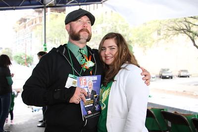 58th Annual Houston St. Patrick's Parade 1800 Texas 2017