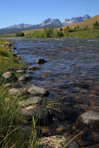 Salmon River near Stanley, Idaho