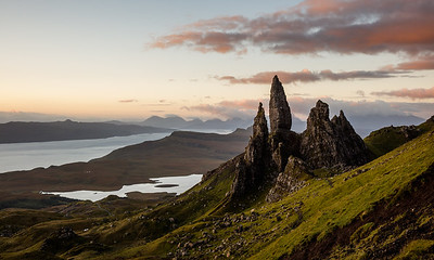 Old man of Storr in the morning light