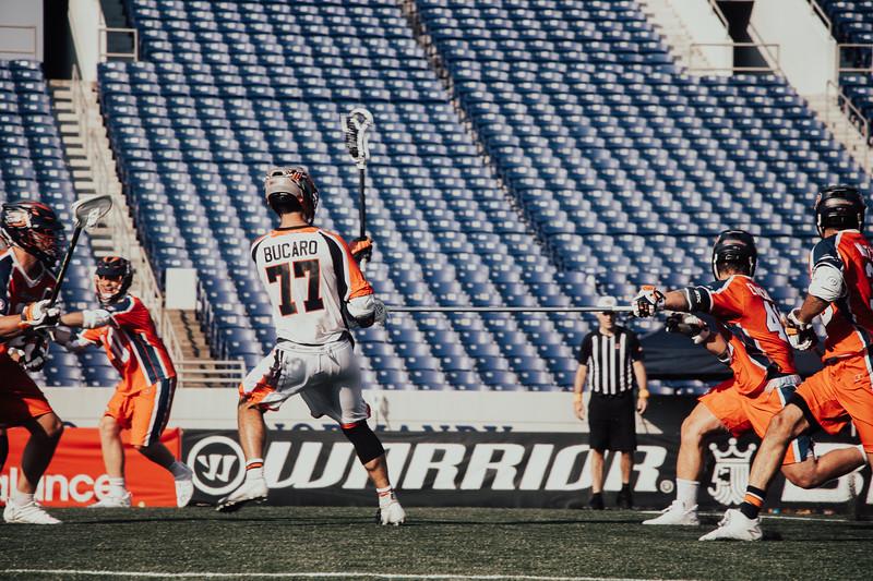 7/19/2020; Annapolis, MD, USA; Barrage vs Outlaws - at Navy Marine Corps Memorial Stadium. Mandatory Photography Credit: Jamal Cooley