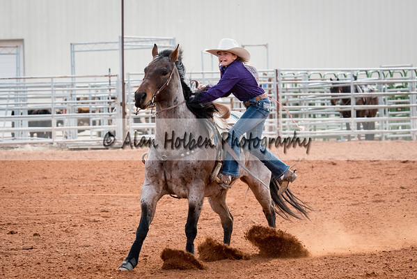 2018 Junior High Rodeo (Saturday) - Girls Goats