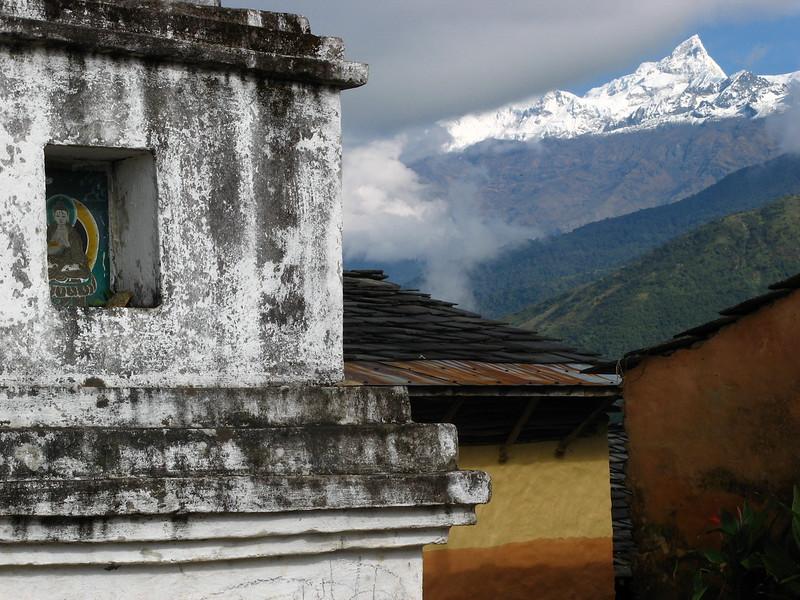 Manaslu, one of the world's 14 highest peaks
