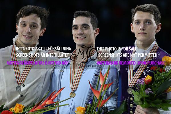 European Championships 2016, Men Free Program