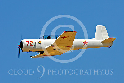 Flying Chinese Air Force Nanchang CJ-6 Airplane Pictures