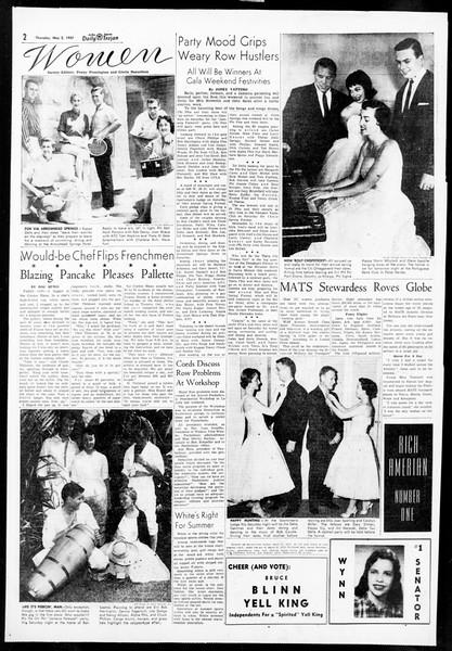 Daily Trojan, Vol. 48, No. 122, May 02, 1957