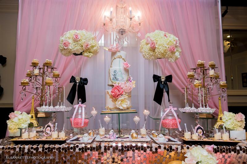 Paris Themed Bridal Shower
