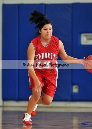 Girls JV Basketball - Everett at Lansing Catholic - Dec 7