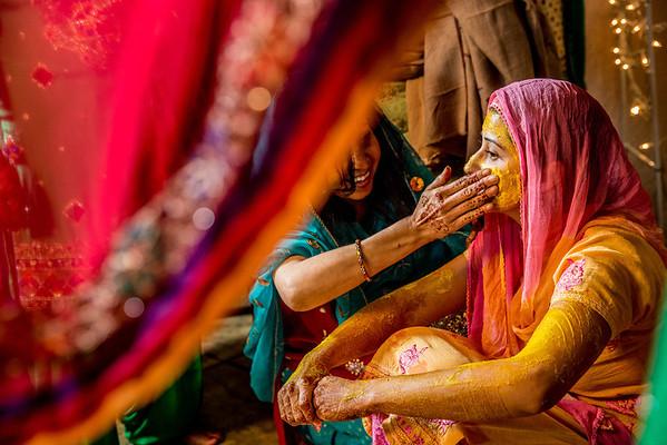 Anjali and Sid Sangeet