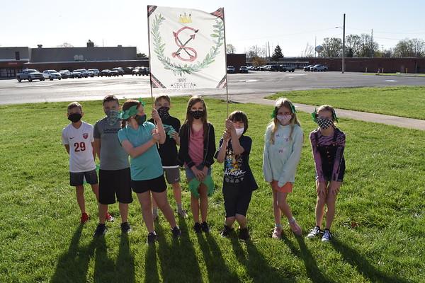 4th graders Greek Olympics Activity
