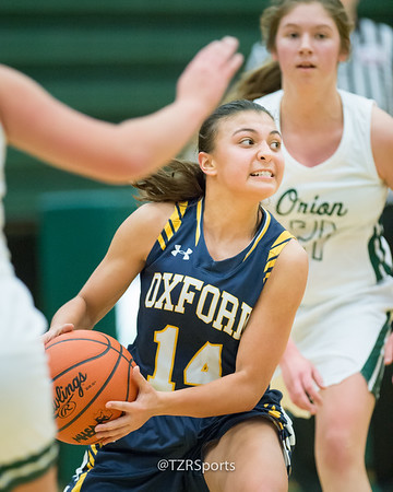 Varsity Girls Basketball at Lake Orion 12/20/2018