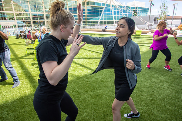 6-12-19 Wellness Wednesdays - Krav Maga
