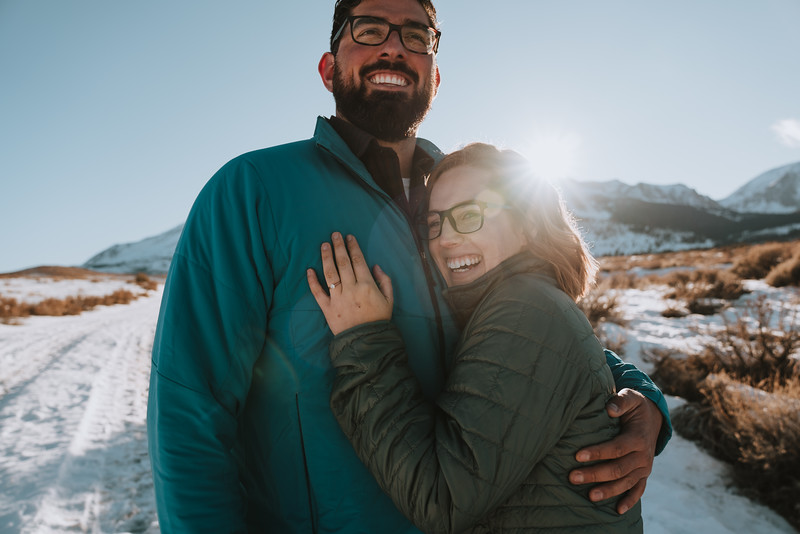 June Lake Mammoth Lakes Engagement Session