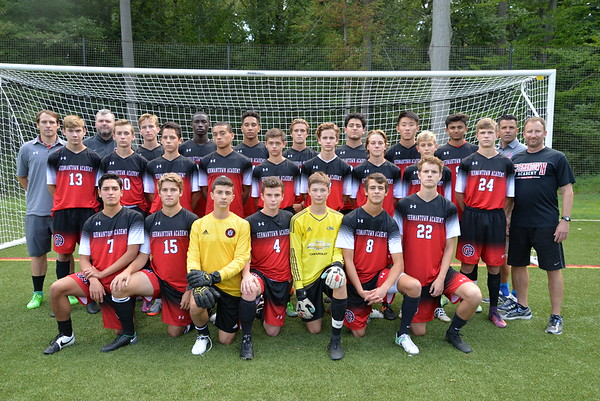 Varsity Boys Soccer Team Photo