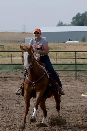 Rocky Mountain Rebel Riders Gymkhana 2008