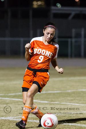 Girls JV Soccer - 2012
