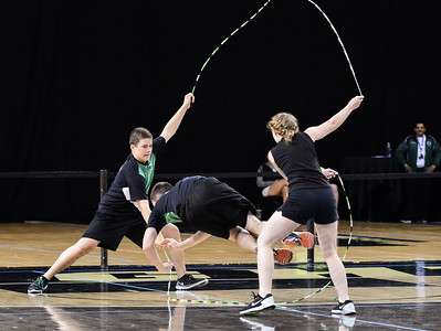 Senior Double Dutch Single Freestyle
