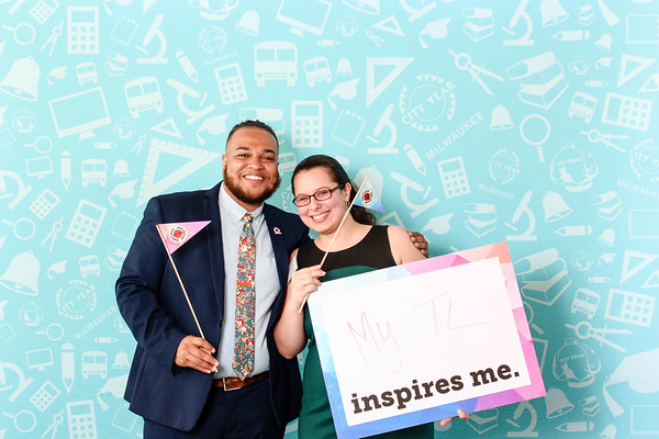 Photo Booth at Annual Dinner-City Year Milwaukee-2019