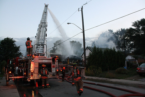September 25, 2012 - 3rd Alarm - 141 Byng Ave.