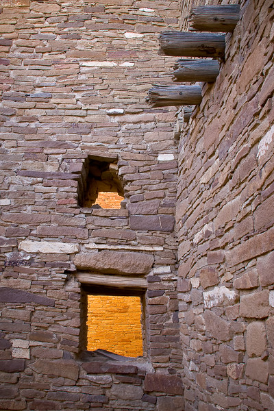 'Ancient Architecture' - Chaco Canyon Pueblo, New Mexico