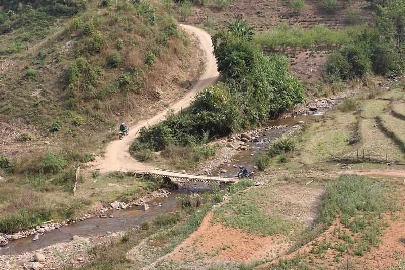 Starting the final approach to Doi Mae Salong
