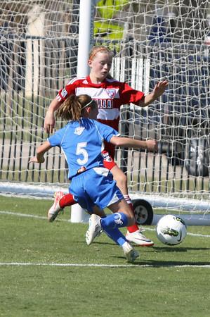 Sting 98 ECNL vs FC Dallas (10/30/2011)