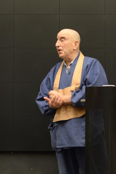 Alan Senauke at Linda Hess' class - Inner Peace, World Peace