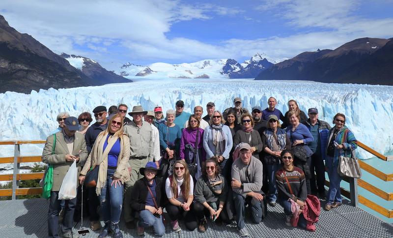 GoAhead Adventurers Group Photograph - Los Glaciares National Park
