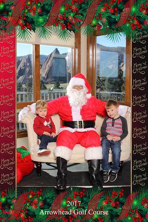 2017 Arrowhead Breakfast with Santa 12/2-3