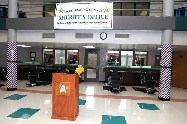 Jail North Opening Barber School April 1, 2019