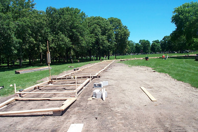 Construction of the Walkway