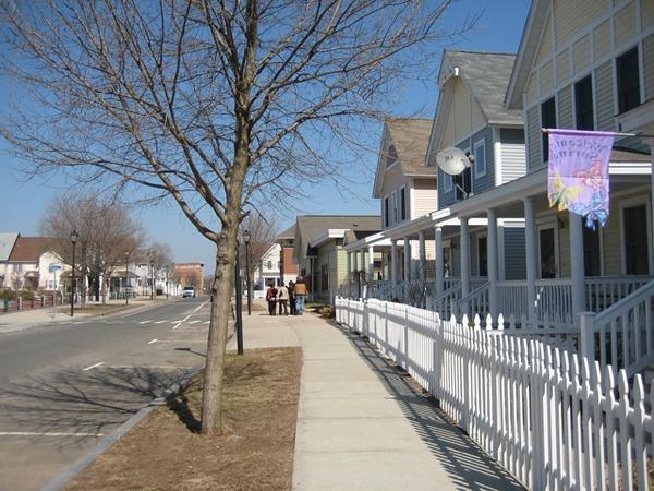 Through Jackson/Churchill neighborhood