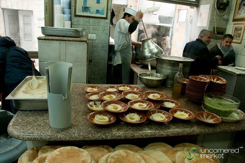 Inside Hashem, One of Amman's Classic Restaurants - Jordan
