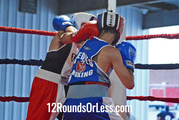 Bout #7  Adrian Lugo ( Raul Toress BC) vs Noel Ortiz (Freddie's Boxing Club)  114Lb. Junior
