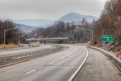 Route 9W, Kingston, New York, USA
