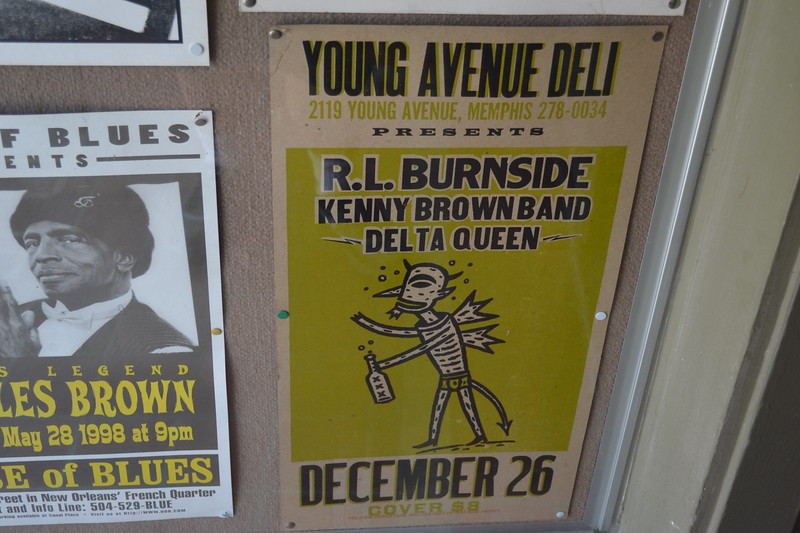 034 Young Avenue Deli R. L. Burnside Poster.jpg