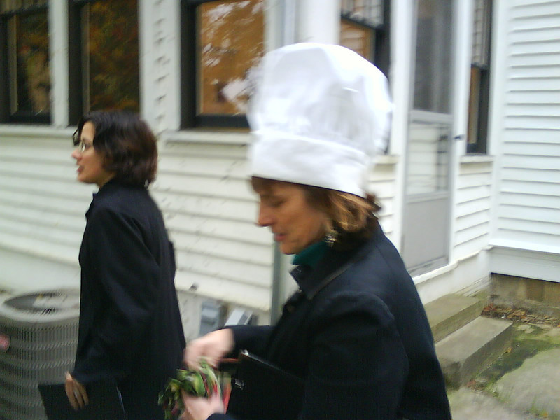 Sue Swaney, a chef with things to do!  http://www.vocesnovae.org/