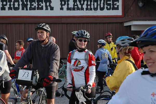 2007 Bike Trek to Shakertown