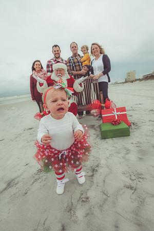 Ashlee and Melissa's Santa Photos