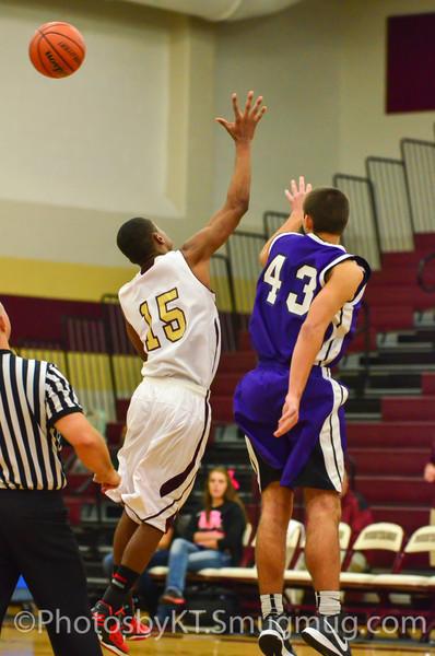 MWF vs Montgomery Boys Basketball