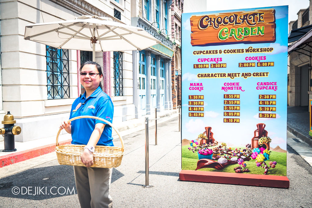 Universal Studios Singapore Park Update 2017 - Chocolate Adventure event - Chocolate Garden entrance