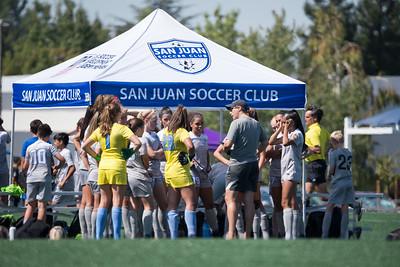 180922 - 03 Girls U16 - Mustang SC ECNL @ San Juan ECNL