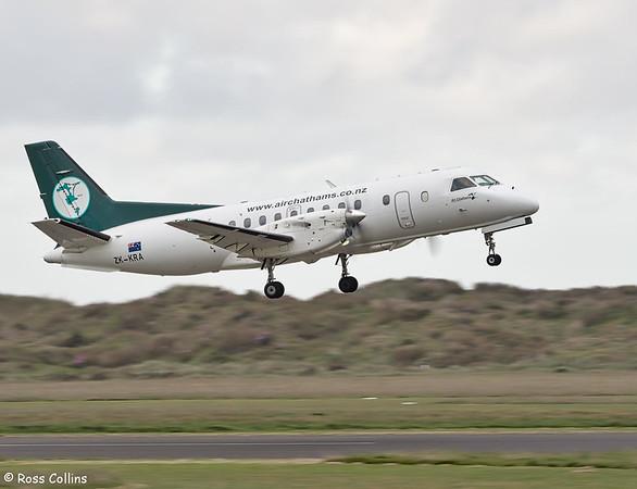Air Chathams Saab 340A at Whanganui 2018