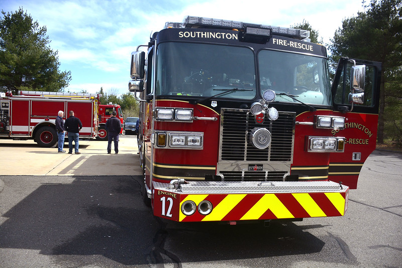 4/9/2016 Mike Orazzi   Staff Southington Fire Company 3 on Saturday during an open house.