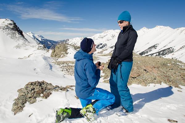Joel & Lauren :: A Mountaintop Engagement