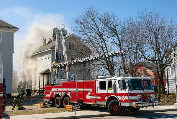 Providence- 2nd Alarm, Friendship Street- 03/22/2020